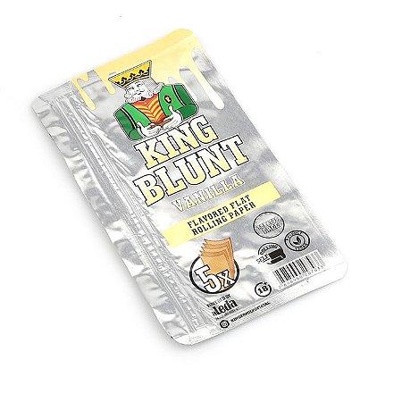 Blunt King Baunilha (Sem Tabaco) - Pacote com 5