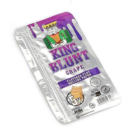 Blunt King Uva (Sem Tabaco) - Pacote com 5