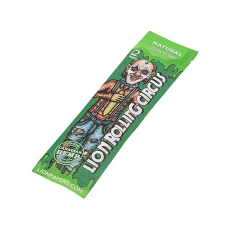 Blunt Lion Rolling Circus Natural - Pacote com 2
