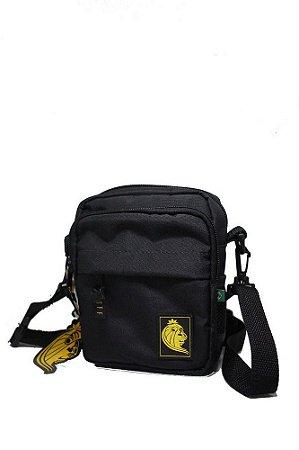 Shoulder Bag Puff Life - Preta