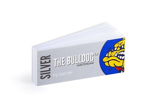 Piteira de Papel The Bulldog Amsterdam Silver (Un.)