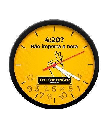 Relógio de Parede Yellow Finger (Modelo Sortido) (Un.)