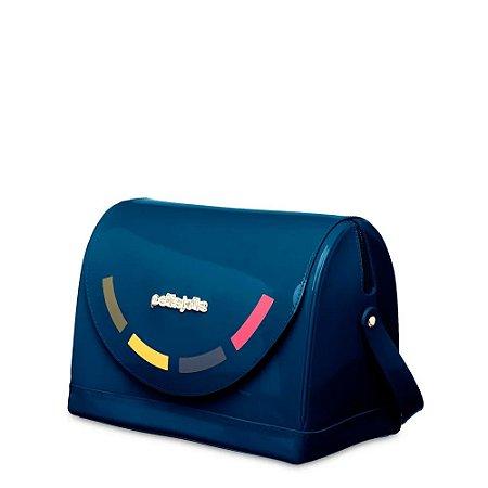 Bolsa Petite Jolie Bloom Azul Escuro PJ4890