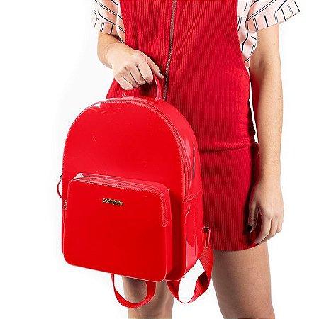 Mochila Petite Jolie Kit Vermelho PJ2032