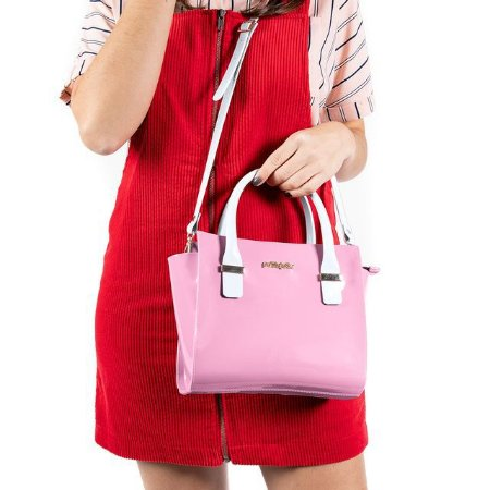 Bolsa Petite Jolie Love Rosa Claro PJ2121