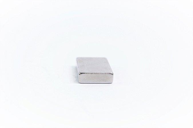 Ímã Neodímio N42 Bloco 25X15X5 mm