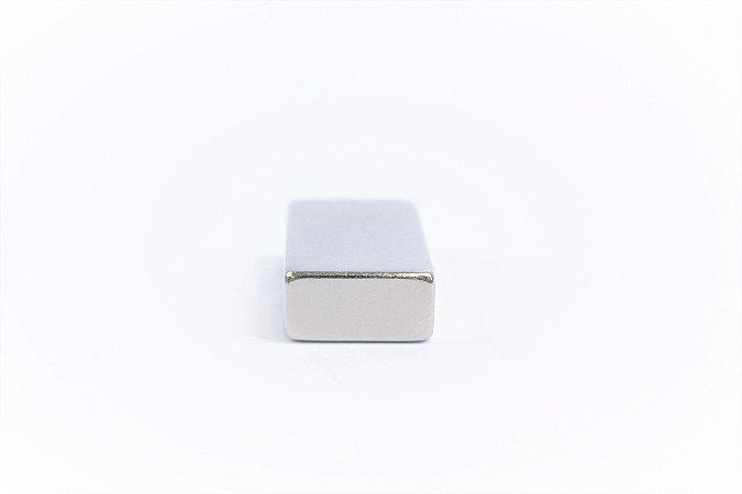 Ímã Neodímio N42 Bloco 30X20X10 mm