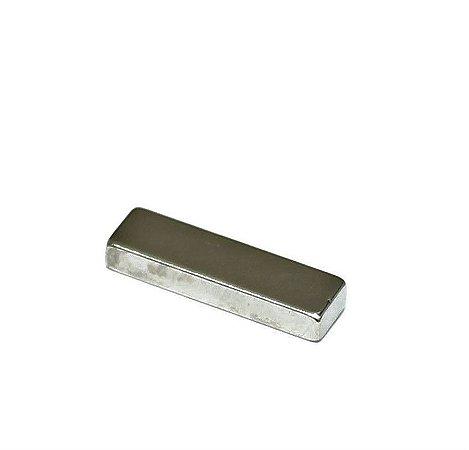 Ímã Neodímio N35 Bloco 25x7x2,5 mm