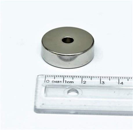 Ímã Neodímio N35 Anel 30x6,35x10 mm