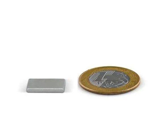 Ímã Neodímio N35 Bloco 16x10x2 mm