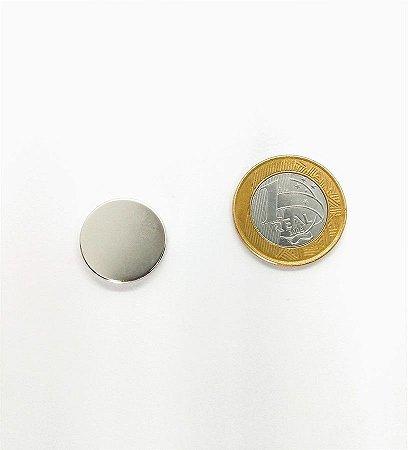 Ímã Neodímio N35 Pastilha 20x3 mm