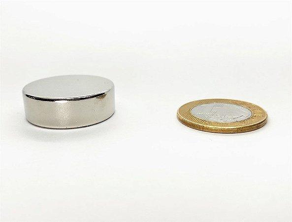 Ímã Neodímio N42 Pastilha 30x10 mm