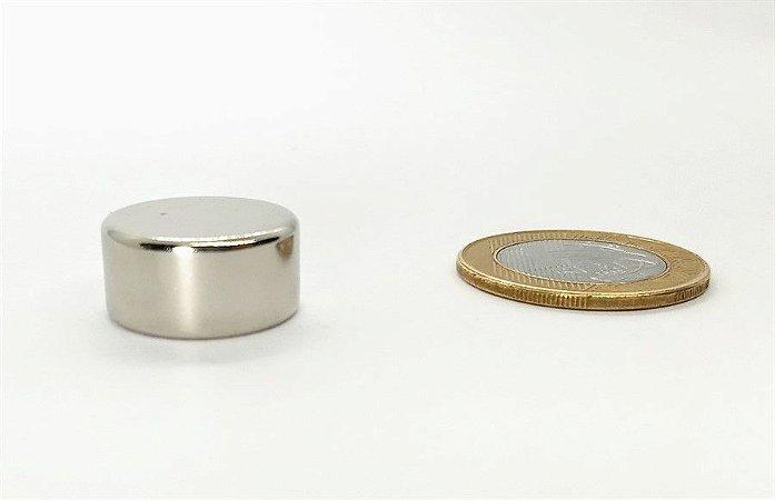 Ímã Neodímio N42 Pastilha 20x10 mm