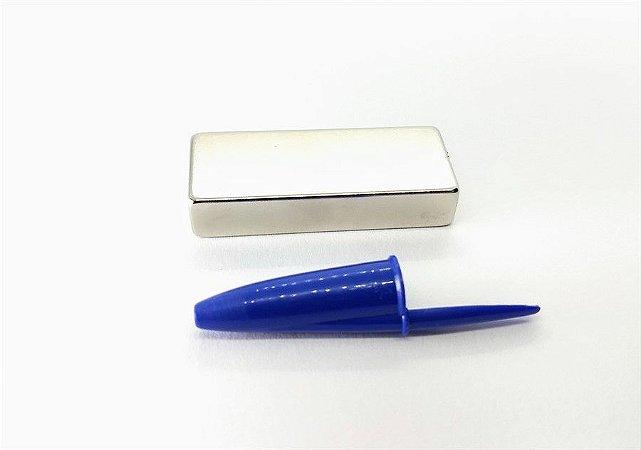 Ímã Neodímio N42 Bloco 50X20X10 mm