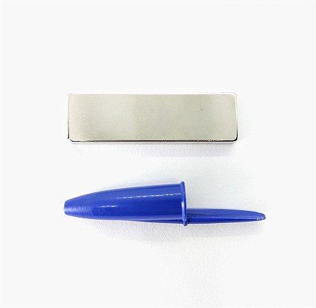 Ímã Neodímio N35 Bloco 50X15X5 mm