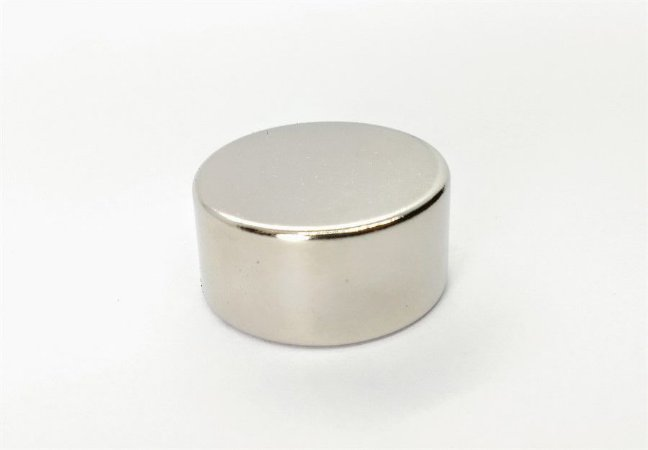 Ímã Neodímio N35 Pastilha 30x15 mm