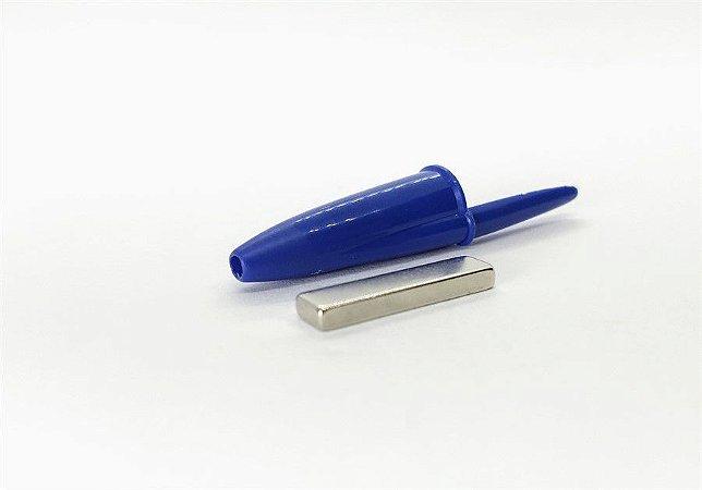 Ímã Neodímio N35 Bloco 25X6X3 mm