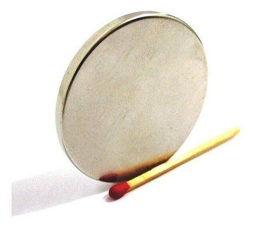 Ímã Neodímio N35 Pastilha 45x4 mm
