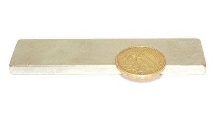 Ímã Neodímio N35 Bloco 80x20x5 mm