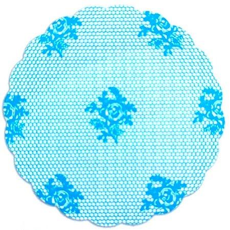 Fundo para doces Rendado Azul Claro - Medidas Variadas - 100Un