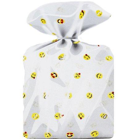 Saco Decorado Smile Plastico PP - Medidas Variadas