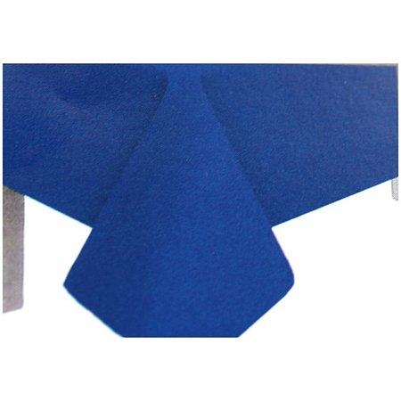 Toalha de Mesa Plástico Lisa Azul Escuro - 10 un