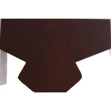 Toalha de Mesa Plástico Lisa Marrom - 10 unidades - Medidas Variadas