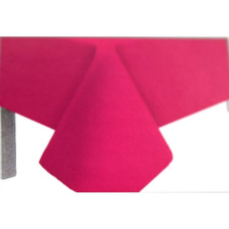 Toalha de Mesa Plástico Lisa Pink - 10 unidades - Medidas Variadas