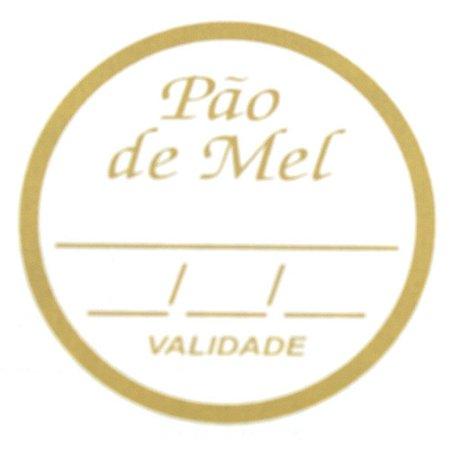 Etiqueta Adesiva Pão de Mel Sabor e Validade - 100un