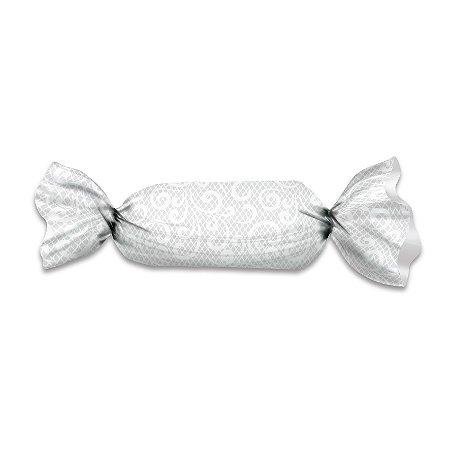 Embalagem para Trufas e Bombons 20x18 Renda Branca