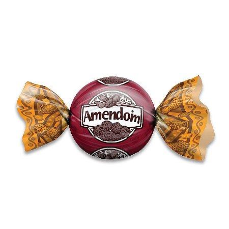 Embalagem para Trufas e Bombons 15x16 Amendoim
