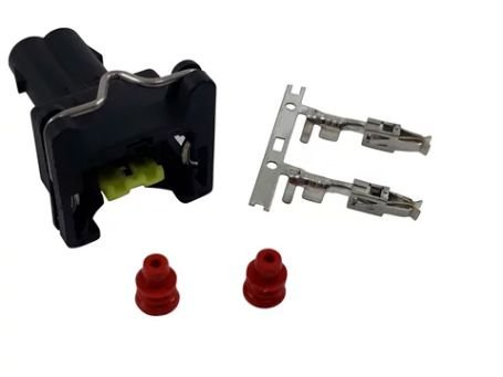 Conector 2 Vias para bico injetor e sensor