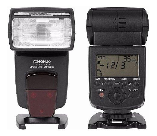 Flash Yongnuo 568 EXII - Para câmeras CANON