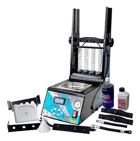 Máquina de limpeza e teste de bicos injetores GDI + Testes eletrônicos