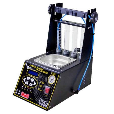 Máquina de limpeza e teste de bicos injetores