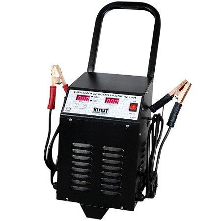 Carregador de Bateria Digital Inteligente 50 Ampéres