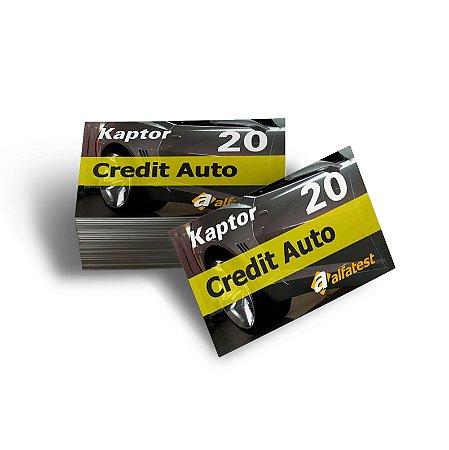 Cartão Credit Auto 20