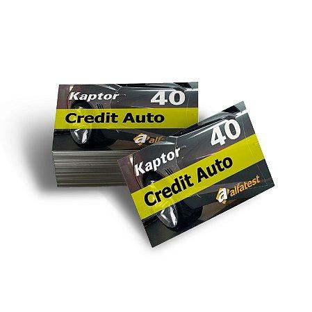 Cartão Credit Auto 40