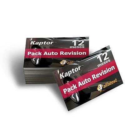Cartão Pack Auto Revision 12 meses