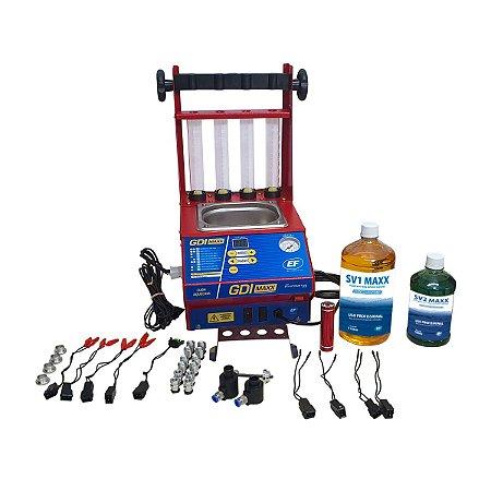 Maquina para Limpeza e Teste de Injetores GDI - EF GDI MAXX