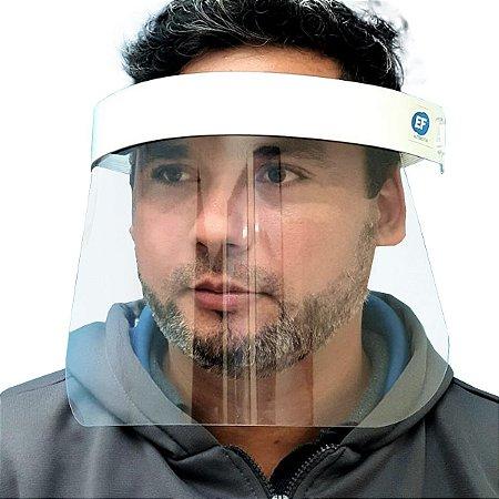 Mascara Protetor Facial Face Shield Leve Segura Confortável
