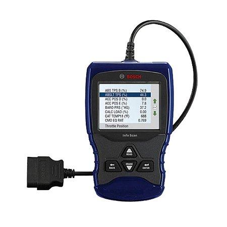 Leitor OBD II Bosch 1150 BR com Tela Colorida