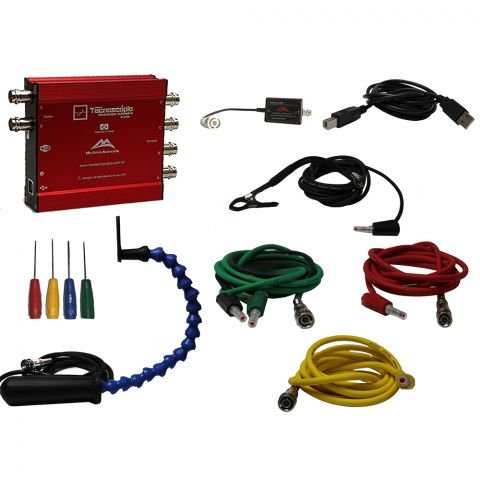 New Tecnoscópio 3 Canais - Osciloscópio Automotivo