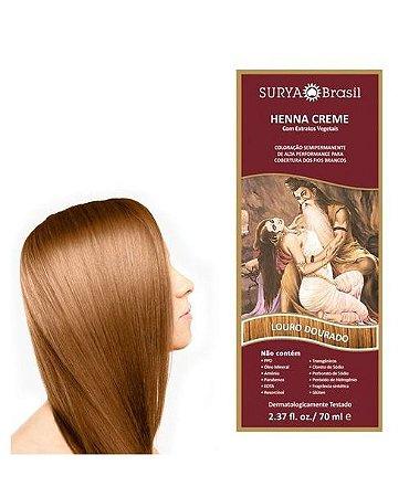 Henna Creme Louro Dourado Surya Brasil 13.5 P 70ml
