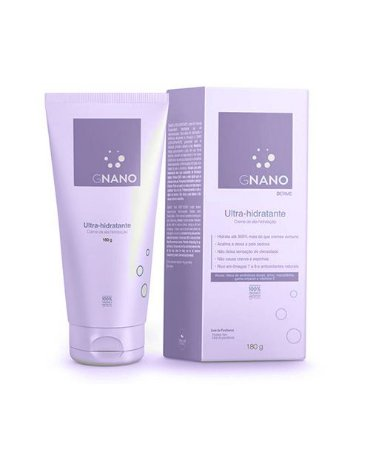 Ultra-Hidratante Creme de Alta Hidratação Gnano Derme 180g