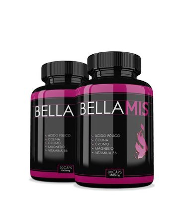 Bellamis Kit com 2 1000mg 90 Cápsulas