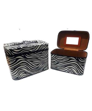 Kit com 2 Frasqueiras Zebra JN80043