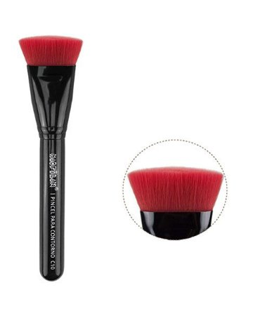 Pincel de Maquiagem para Contorno Linha Color Macrilan C10