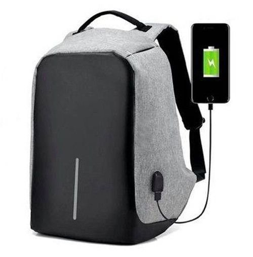 Mochila Anti-furto Com Compartimento P/ Notebook Saida USB Para Carregamento De Dispositivos 803261