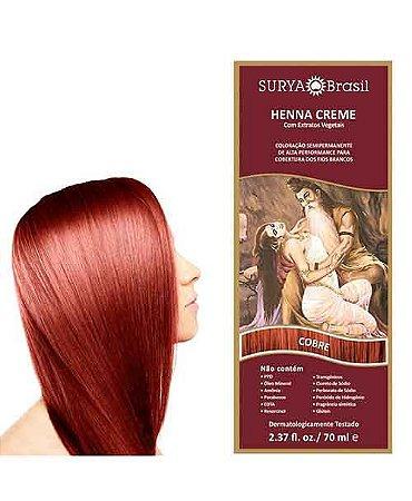 Henna Creme Cobre Surya Brasil 13.13 P 70ml